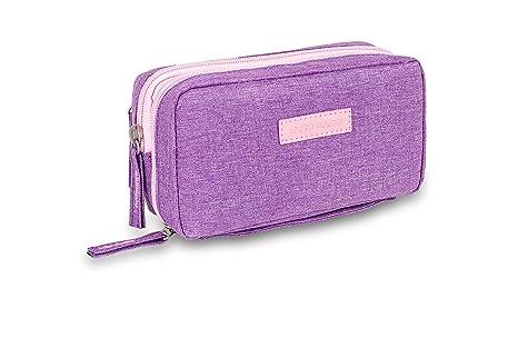 Bolsa estuche isotérmico para diabéticos | Diabetic´s | Elite Bags | Color: morado | Para plumas de insulina y glucómetros