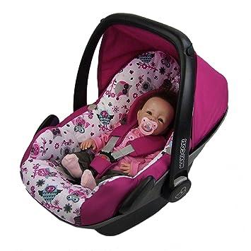 BAMBINIWELT Ersatzbezug für Maxi-Cosi PEBBLE 5-tlg, Bezug für Babyschale, Komplett-Set *NEU* EULE $1