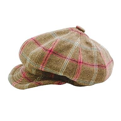 Tayberry Ladies Tweed Baker Boy Hat (M 81751c8d63