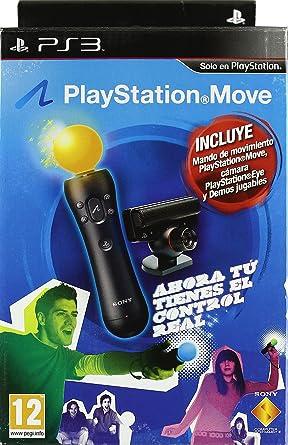PLAYSTATION MOVE STARTER PACK: Amazon.es: Videojuegos