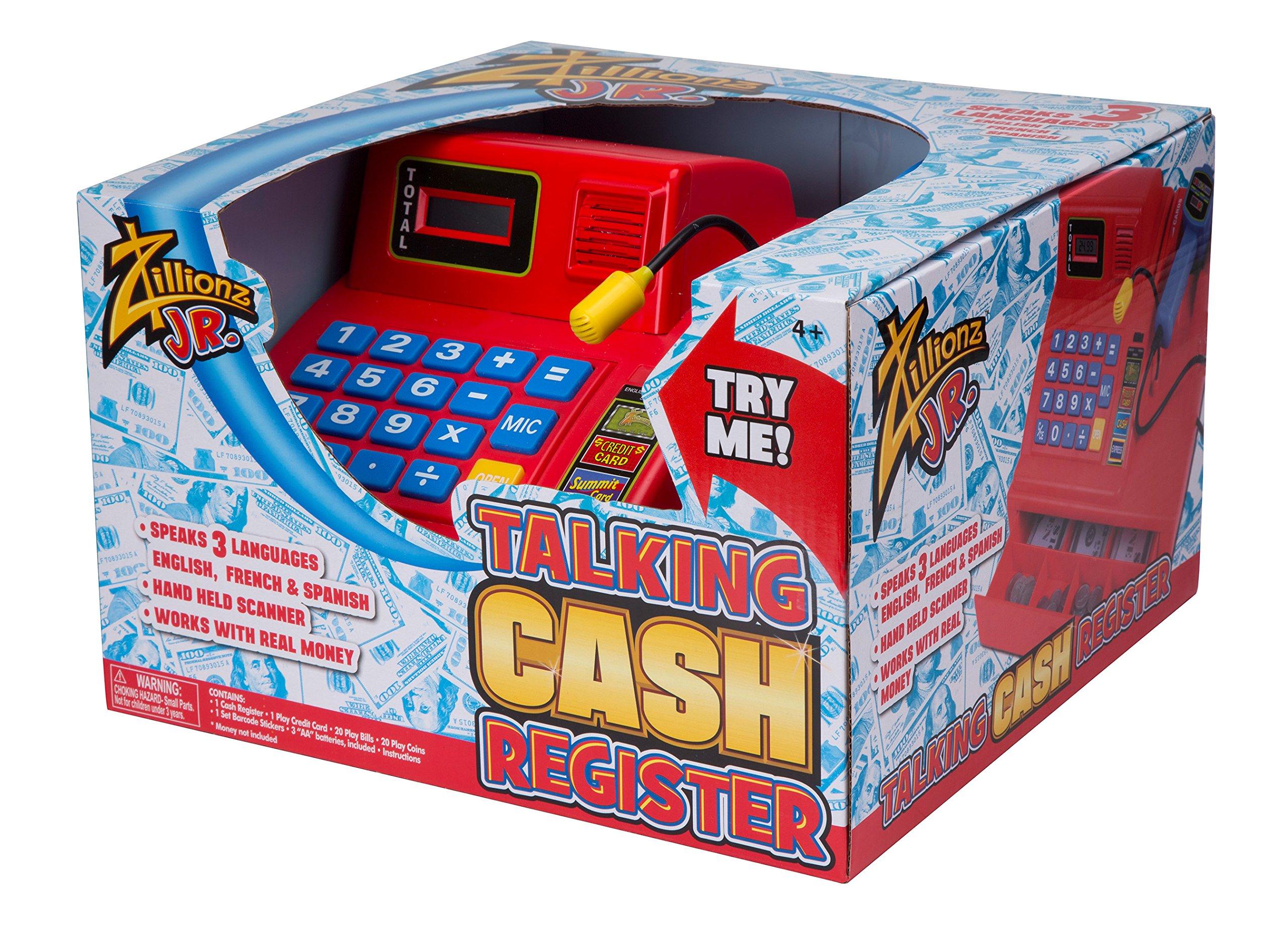 Zillionz Jr. Talking Cash Register by Zillionz (Image #1)