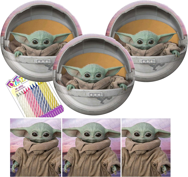 Baby Yoda Birthday Mandalorian Party Favors Baby Yoda Birthday Gift The Mandalorian Kids Baby Yoda Gift