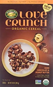 Natures Path Cereal Dark Chocolate Peanut Butter Crunch Love, 10 oz