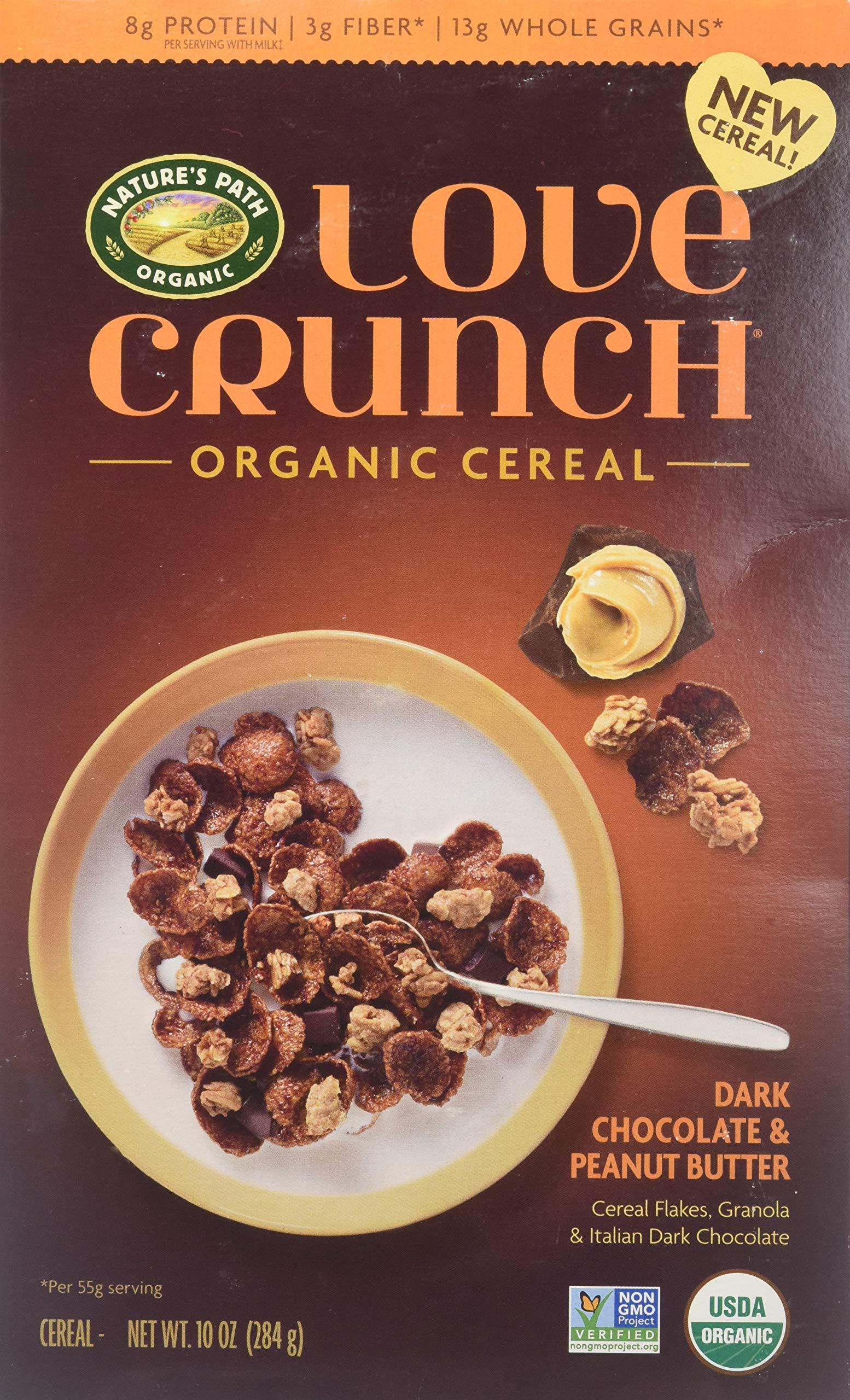 Nature S Path Organic Love Crunch Organic Cereal Dark Chocolate Peanut Butter 10 Oz Buy Online In Mongolia At Mongolia Desertcart Com Productid 93167783
