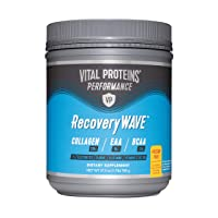 Vital Proteins Recovery BCAA Powder -8g BCAAs, 5g Essential Amino Acids, 20g of Collagen (Passionfruit)