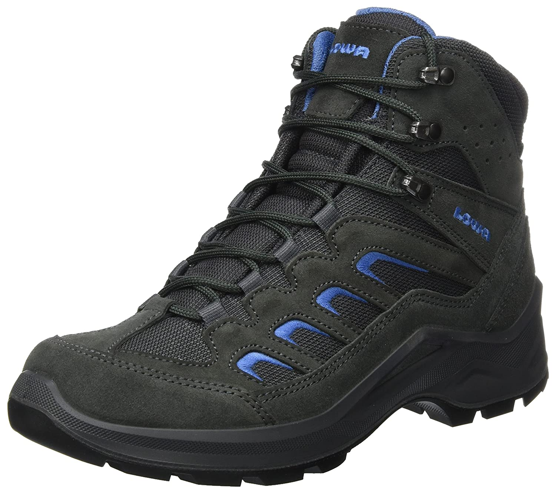 Lowa Sesto GTX Mid, Zapatillas de Senderismo para Hombre 46 EU Gris (Anthracite/Blue)