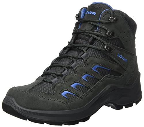 Lowa Men s Sesto GTX Mid Low Rise Hiking Boots  Grey AnthraciteBlue
