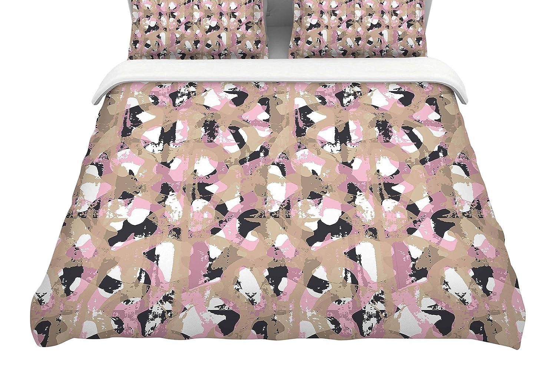 104 x 88, Kess InHouse Matthias Hennig Soft Dots King Cotton Duvet Cover