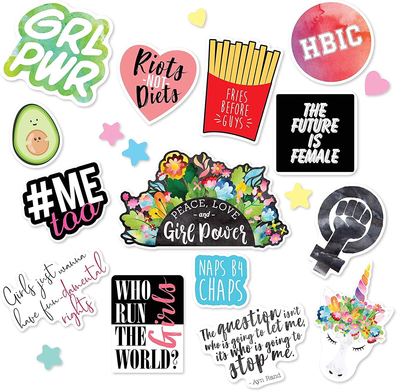 Eternity Girls Sticker Pack Pack of 5 Stickers