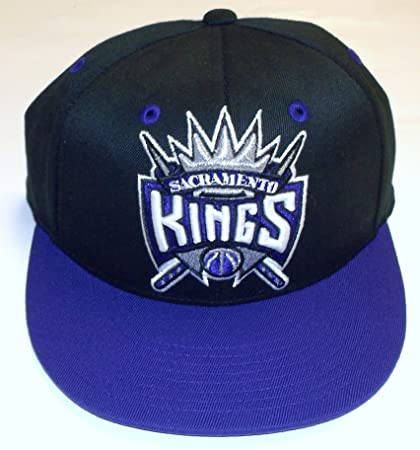 10dd27c57a6e7 Image Unavailable. Image not available for. Color  NBA Sacramento Kings  Flat Bill Flex Adidas Hat ...