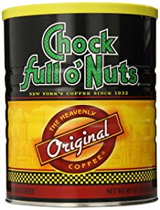 Chock Full O Nuts Ground Coffee, Original blend