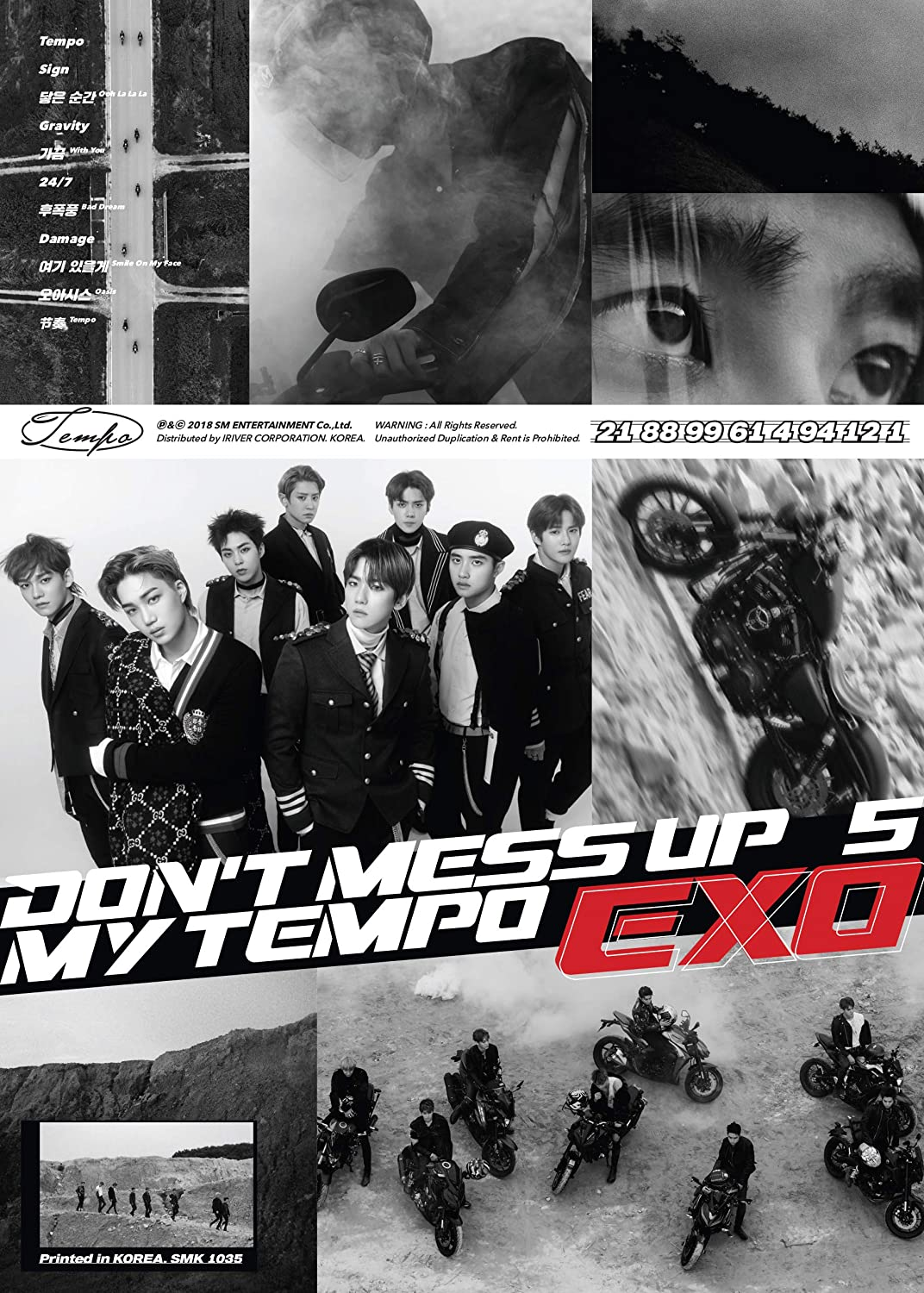 EXO The 5th Album 'DON'T MESS UP MY TEMPO' Allegro Ver