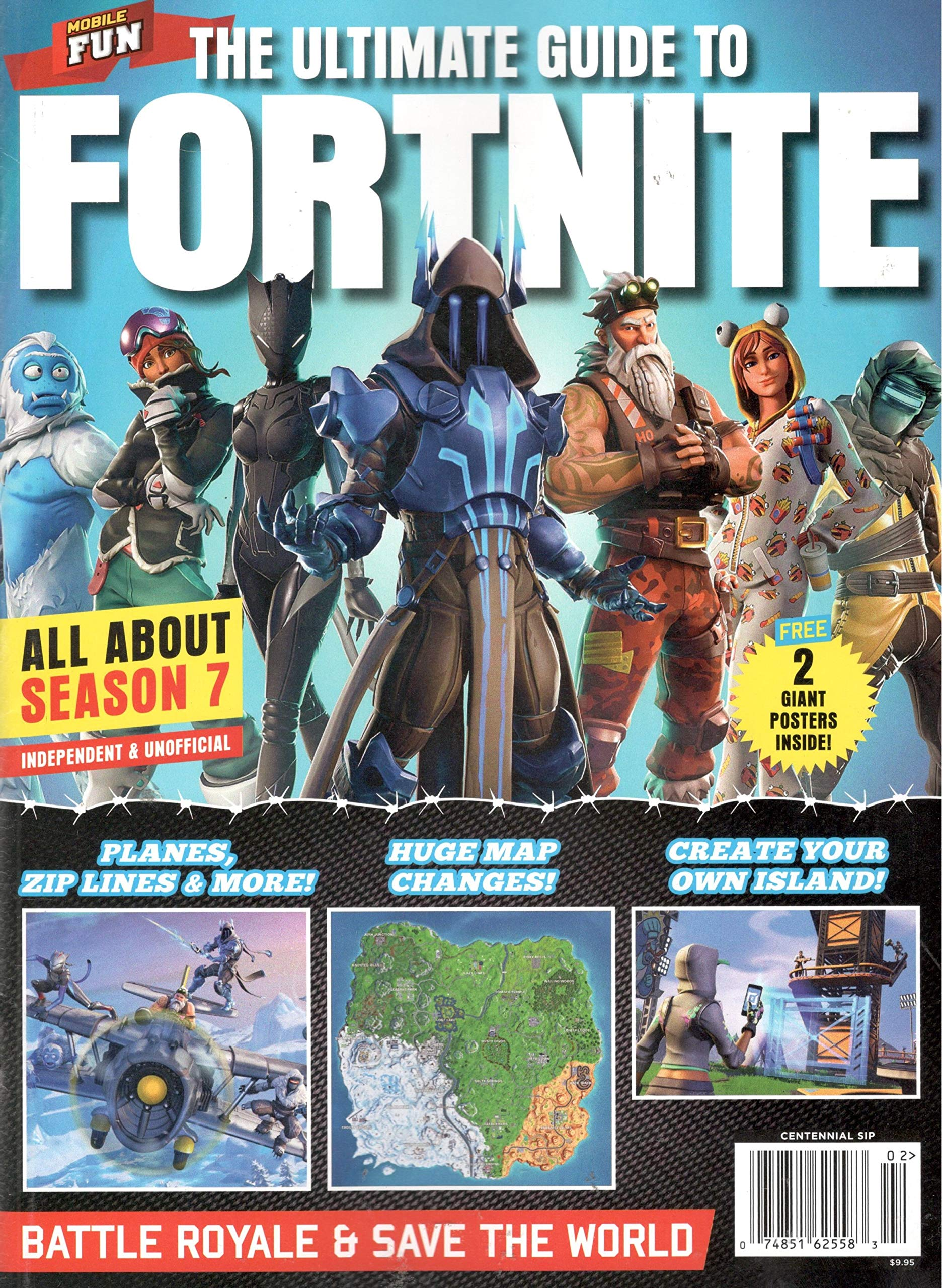 the ultimate guide to fortnite all about season 7 battle royale save the world single issue magazine 2019 - fortnite free save the world 2019