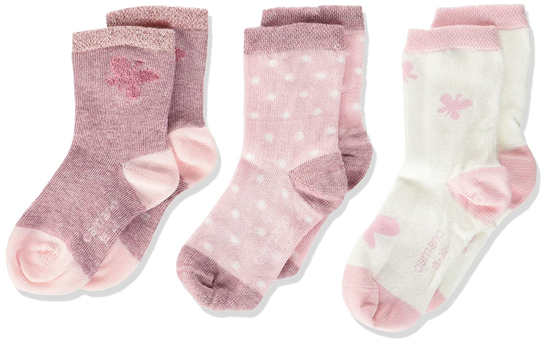 3er Pack Camano Baby-M/ädchen Socken