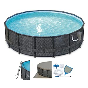 10 best above ground pool reviews 2018 and buyers guide for Summer waves above ground pool review