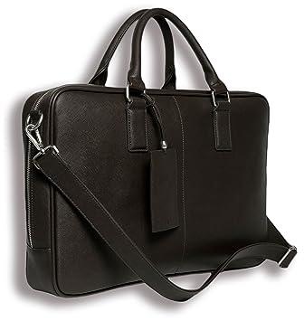 Amazon.com: BfB Laptop Messenger Bag For Men - Designer Business ...