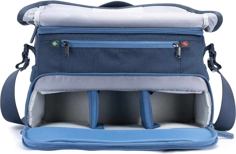 Vanguard Veo Gama 36 Cámara Bolsa en Azul
