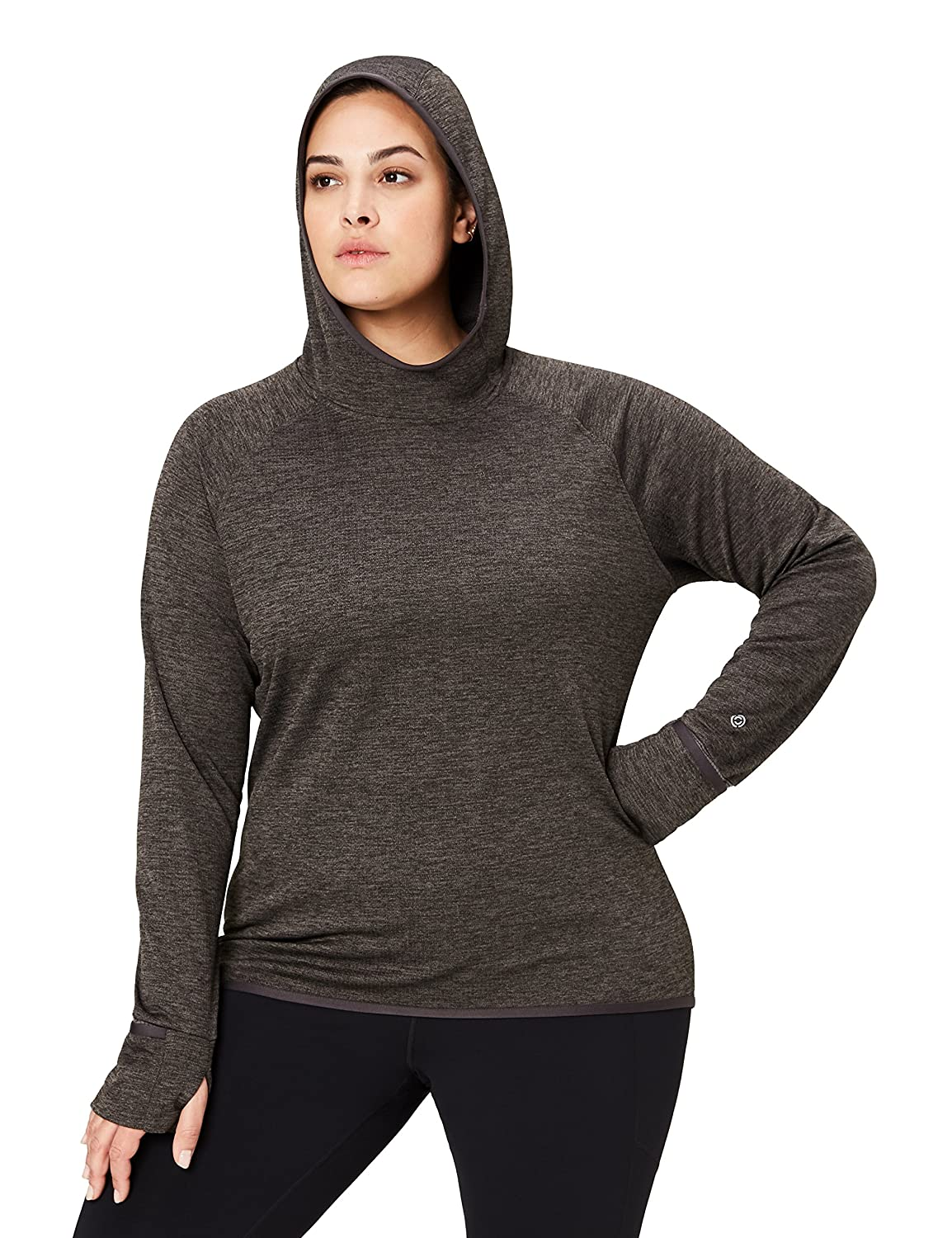 XS-3X Core 10 Womens Thermal Fitted Run Hoodie Brand