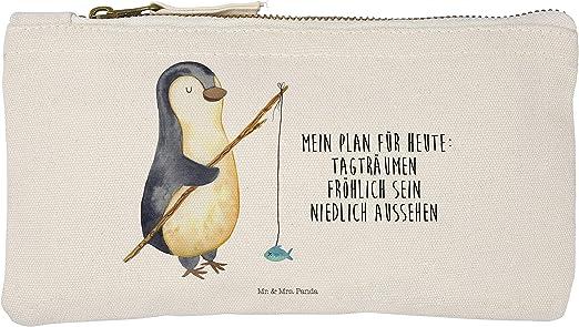 Mr. & Mrs. Panda Funda, Estuche para Dama, S Maquillaje Pingüino angeler con Alemán – Color Blanco: Amazon.es: Hogar