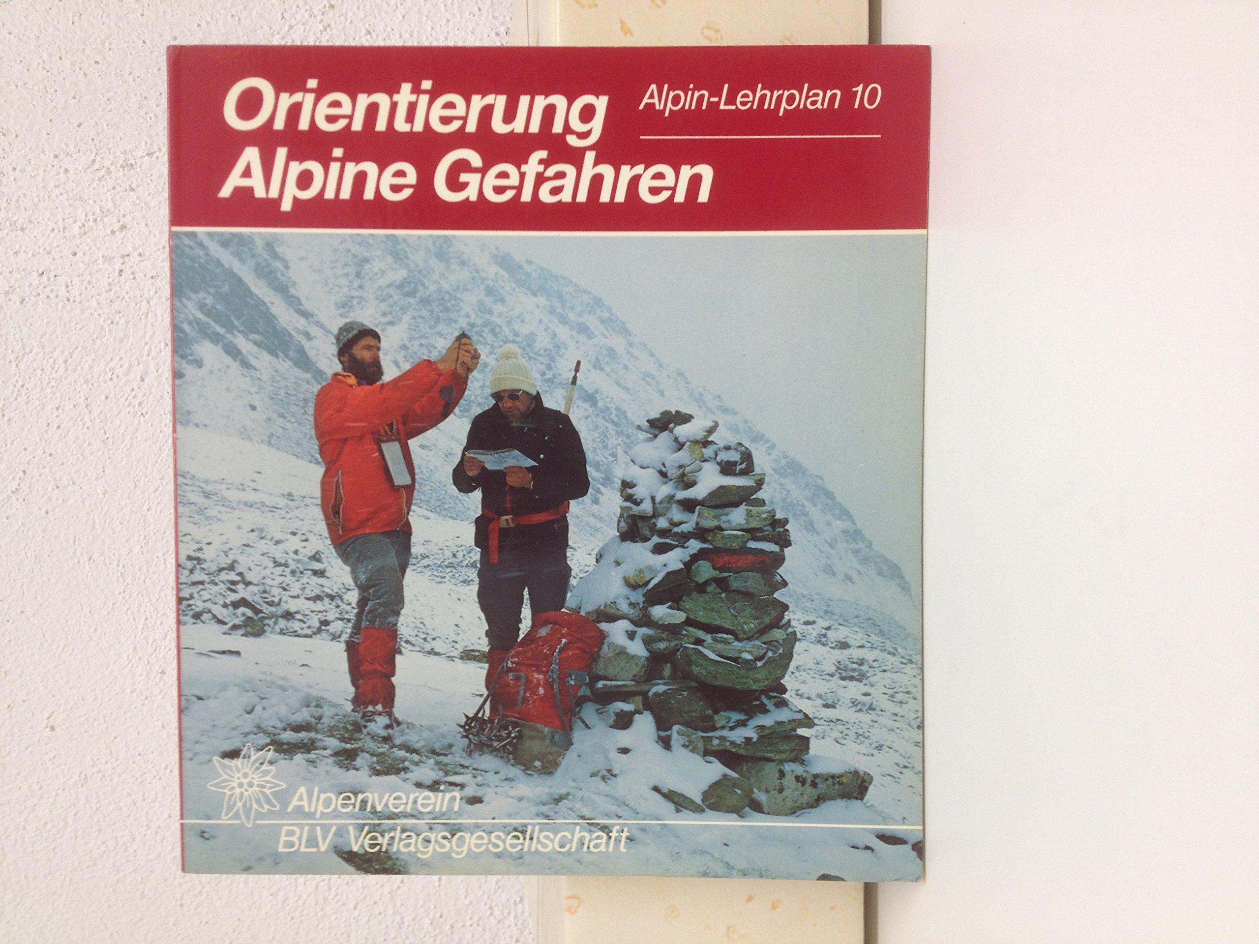 Orientierung; Alpine Gefahren