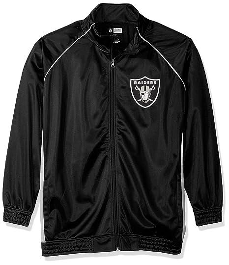 c0cb6f7e NFL Womens Raiders Poly Tricot Track Jacket