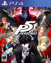 Amazon Com Persona 5 Standard Edition Playstation 4 Sega Of