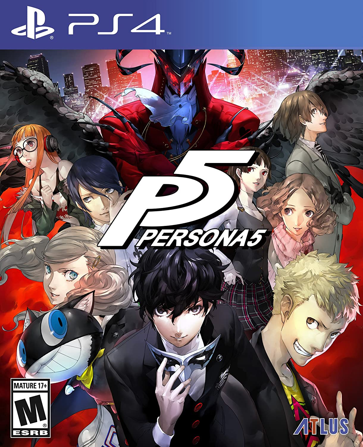 Buy persona 5 standard edition playstation 4 online at low prices in india atlus video games amazon in