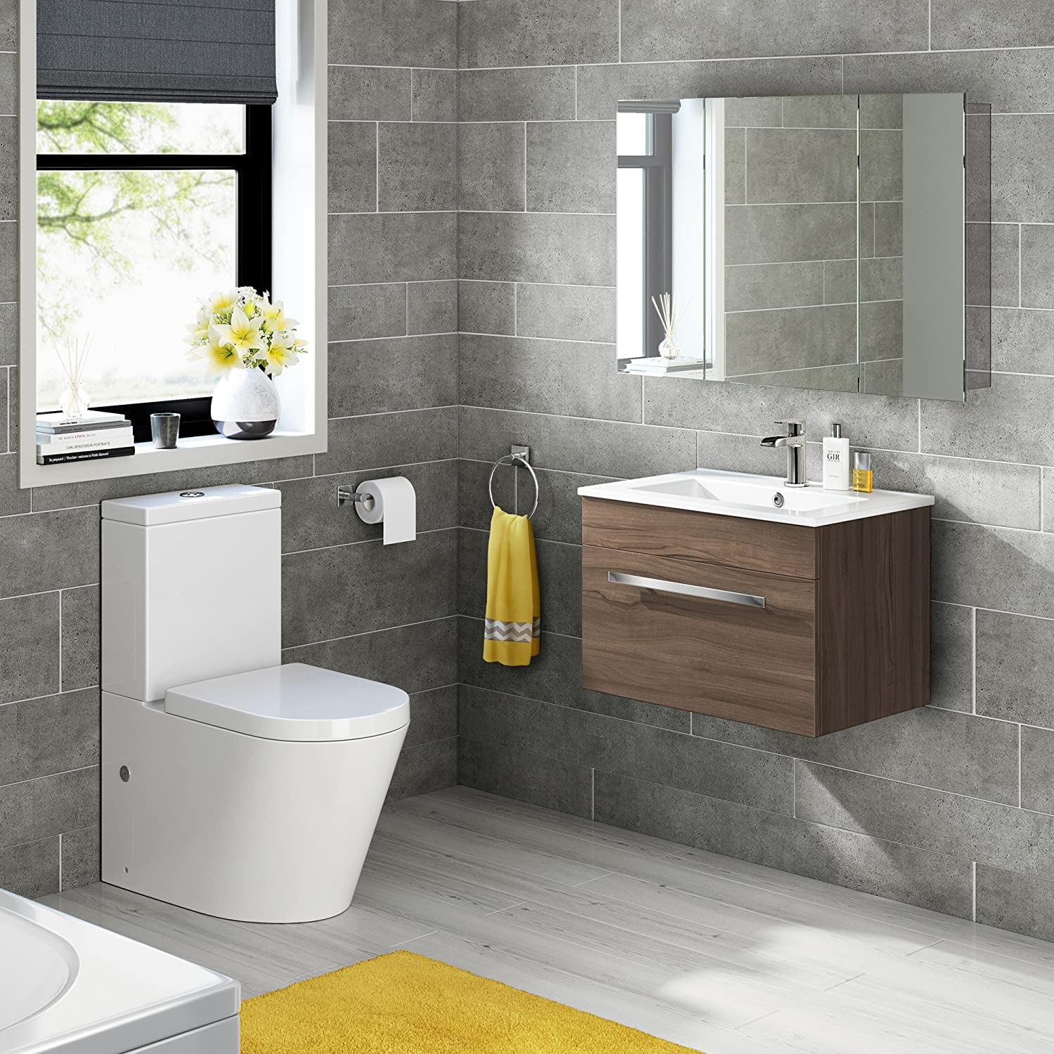 600 X 900 Stainless Steel Bathroom Mirror Cabinet Modern Triple Door Storage  Unit: IBathUK: Amazon.co.uk: DIY U0026 Tools