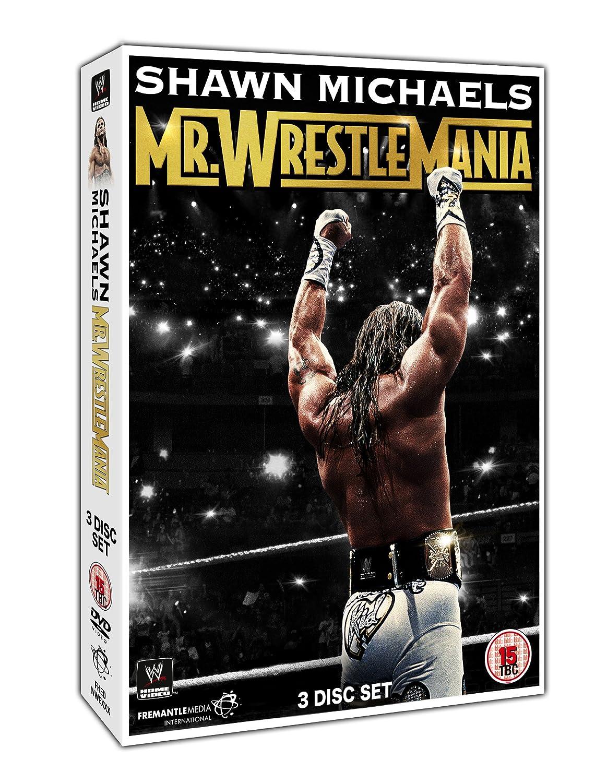 WWE: Shawn Michaels - Mr Wrestlemania DVD Reino Unido: Amazon.es: Shawn Michaels, Triple H, Undertaker, Razor Ramon, Bret Hart, Shawn Michaels, Triple H: Cine y Series TV