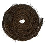 MomokoPeng 2Pcs Grapevine Twig Garland 12 Feet Natural Twig Grapevine For Holiday And Home Decor for Holiday and Home Decor (Brown, 2)