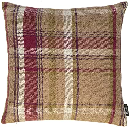 Amazon McAlister Heritage Extra Large Pillow Cover Case 40x40 Unique Tartan Pillow Covers