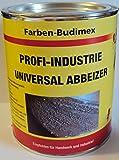Farben-Budimex Profi-Industrie Universalabbeizer, hochwirksamer Spezial Abbeizer entfernt mühelos u. schnell alle Lacke, Kleber, Dispersionen , 750 g / für Stein, Holz u. Metall / tropft nicht /