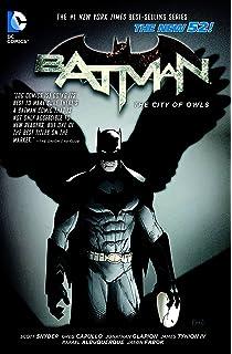 Amazon batman vol 3 death of the family the new 52 batman batman vol 2 the city of owls the new 52 fandeluxe Choice Image