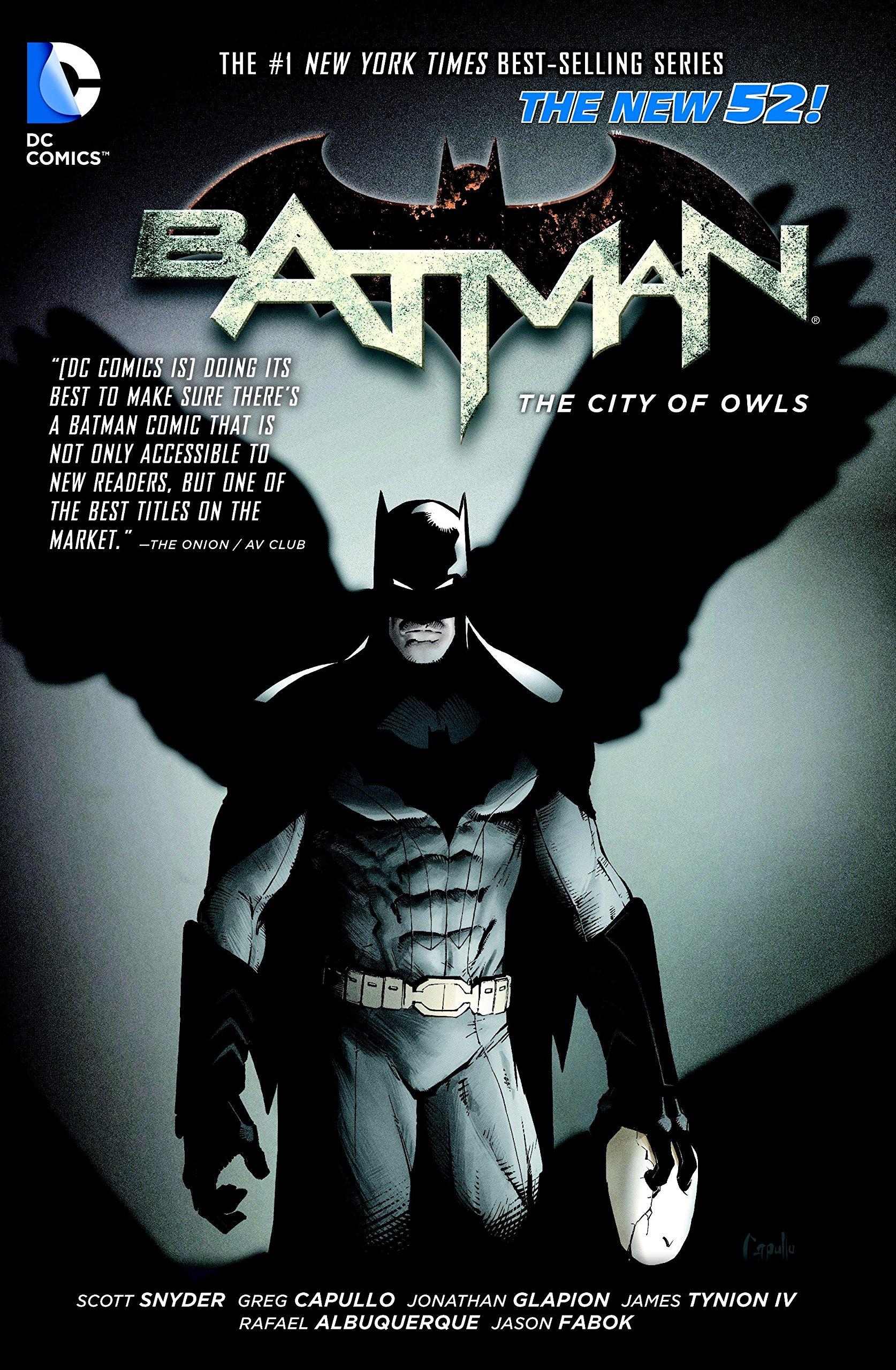 Amazon.com: Batman Vol. 2: The City of Owls (The New 52) (9789351116615):  Scott Snyder, Greg Capullo, Rafael Albuquerque: Books