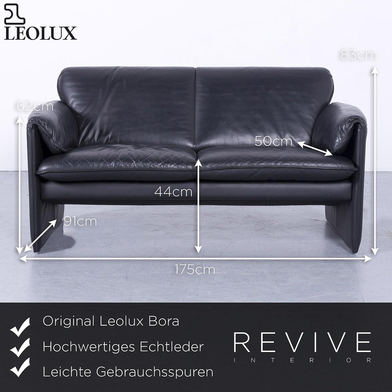 Verzauberkunst Couch Echtleder Ideen Von Conceptreview: Leolux Bora Designer Leder Sofa Schwarz