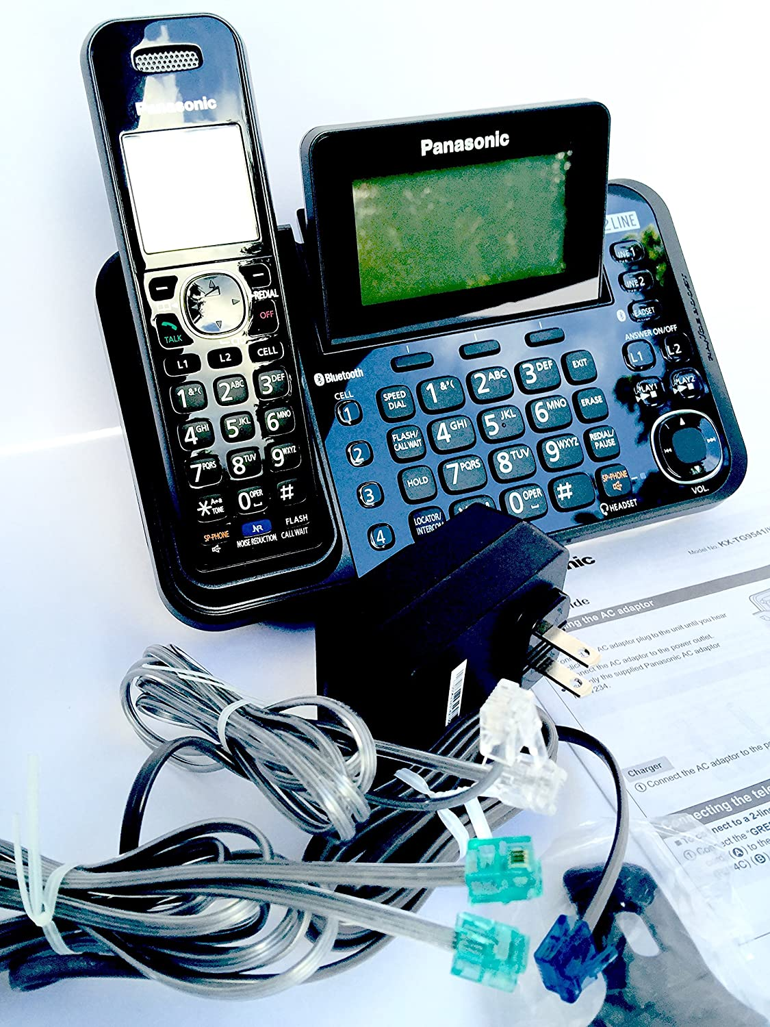 2 Line Cordless, Link to Cell, USB 91FzGV8vCcLSL1500_
