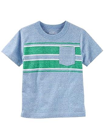 2af9c736 Amazon.com: OshKosh B'Gosh Boys' Pocket Tee: Clothing