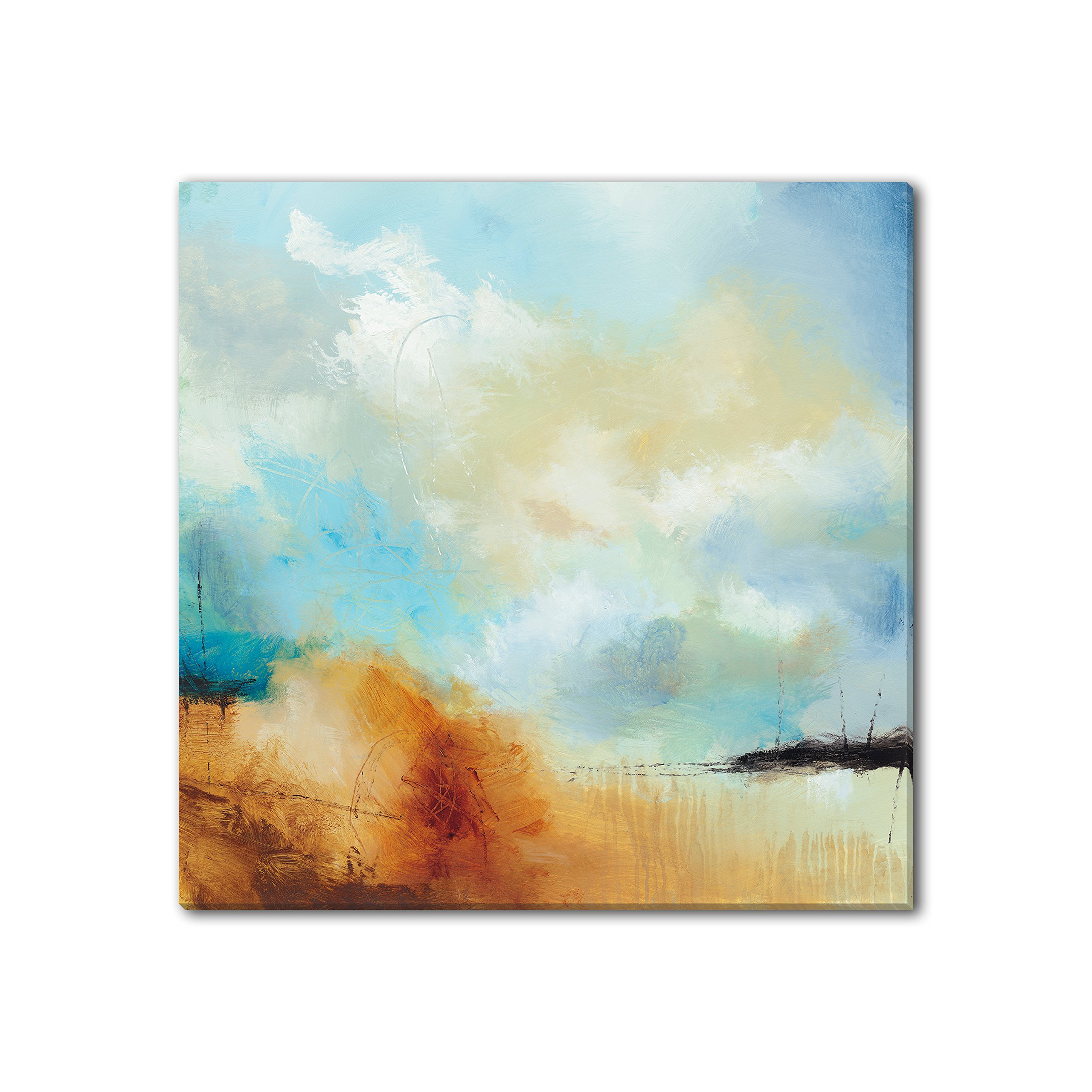 Gallery Direct 'Desert Skies I' Canvas Gallery Wrap by Sean Jacobs', 40 by 40-Inch