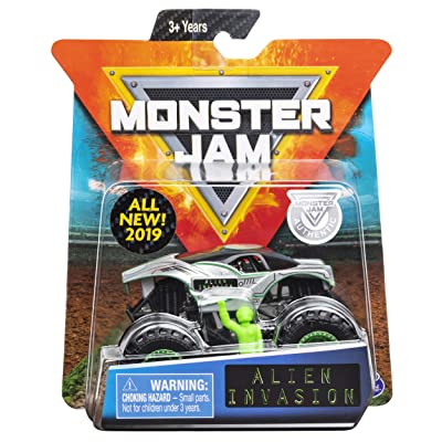 MJ 2020 Monster Jam Alien Invasion: Toys & Games