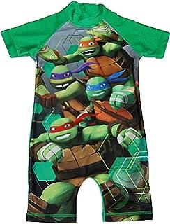 Boys Swimsuit Teenage Mutant Ninja Turtles Sunsafe TMNT Surf Beach 1.5-5 Years