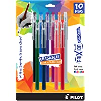10-Packs PILOT FriXion Color Sticks Erasable Gel Pens