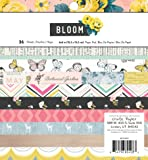 """American Crafts Crate Paper Maggie Holmes Bloom 36 Sheet Paper Pad, 6 by 6"""""""