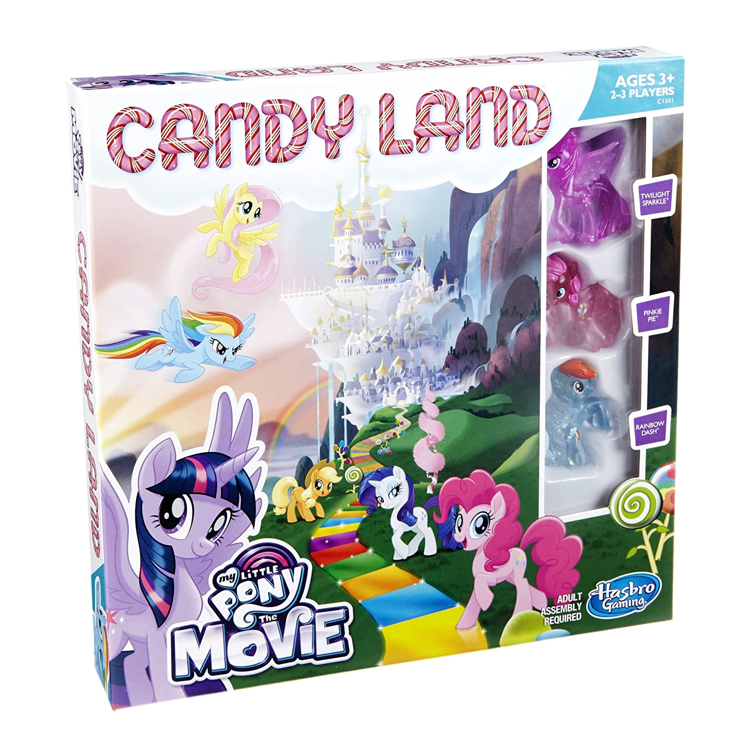 Hasbro Candy Land Game: My Little Pony