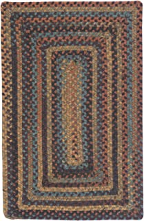 product image for Ridgevale Braided Rug, 2 by 8-Feet, Floral Burst