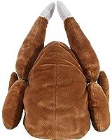 KINREX Turkey Hat - Thanksgiving Plush Hat - Brown Plush Headgear - 30 cm. - 11.81 inches