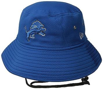 0eaa2a11dbd Detroit Lions New Era NFL Team Bucket Redux Performance Bucket Hat ...