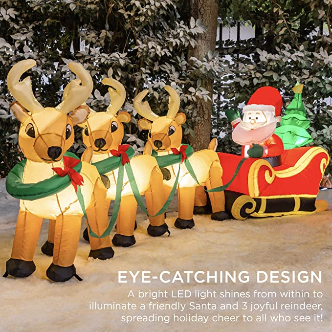 Christmas Concepts 34cm Battery Operated LED Light Up Traditional ...