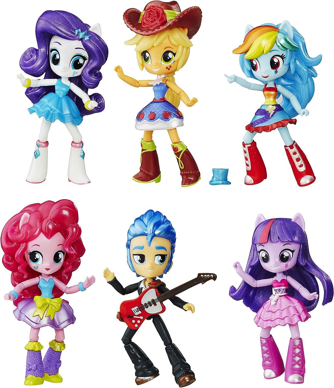 Amazon.es: My Little Pony - Pack de colección Equestria Girls Minis (Hasbro B8892EU4): Juguetes y juegos