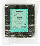 Sound Sea Vegetables Organic Toasted Sushi Nori (Bulk), 50 Sheets, 3.50-Ounce