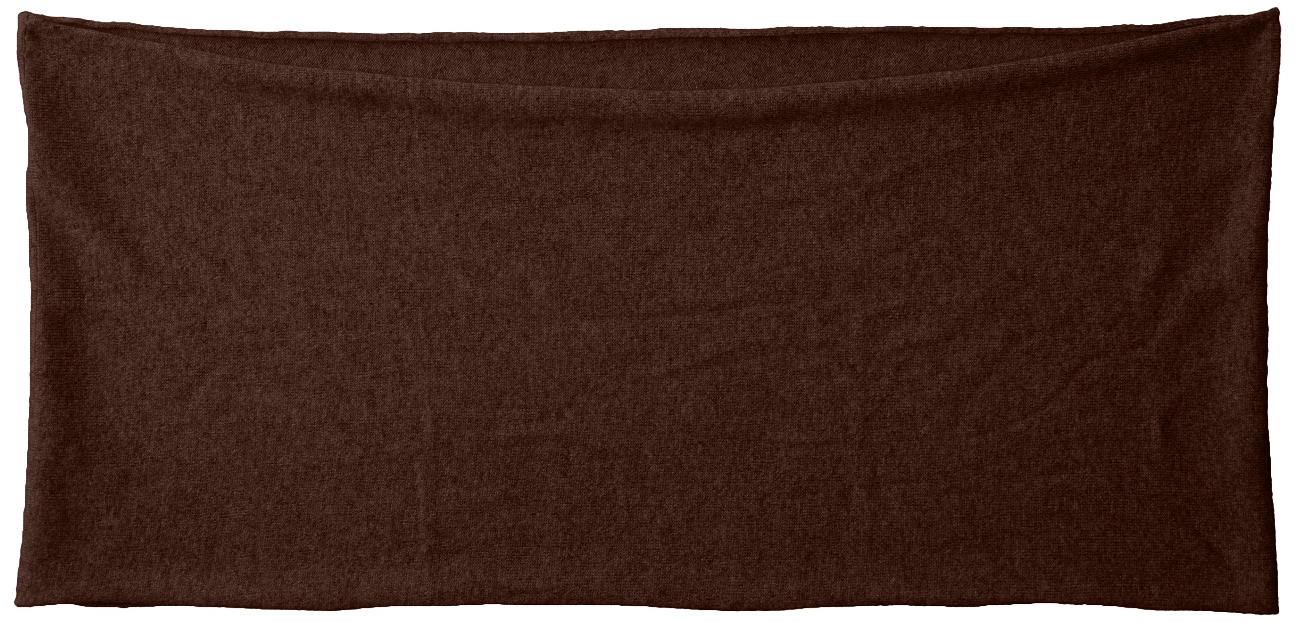 bela.nyc Women's Cashmere Solid Infinity Scarf, Chocolate Heather, One Size by bela.nyc (Image #2)